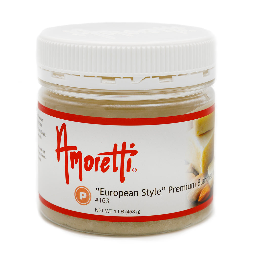 """European Style"" Premium Blanched Almond Paste (natural flavors)"