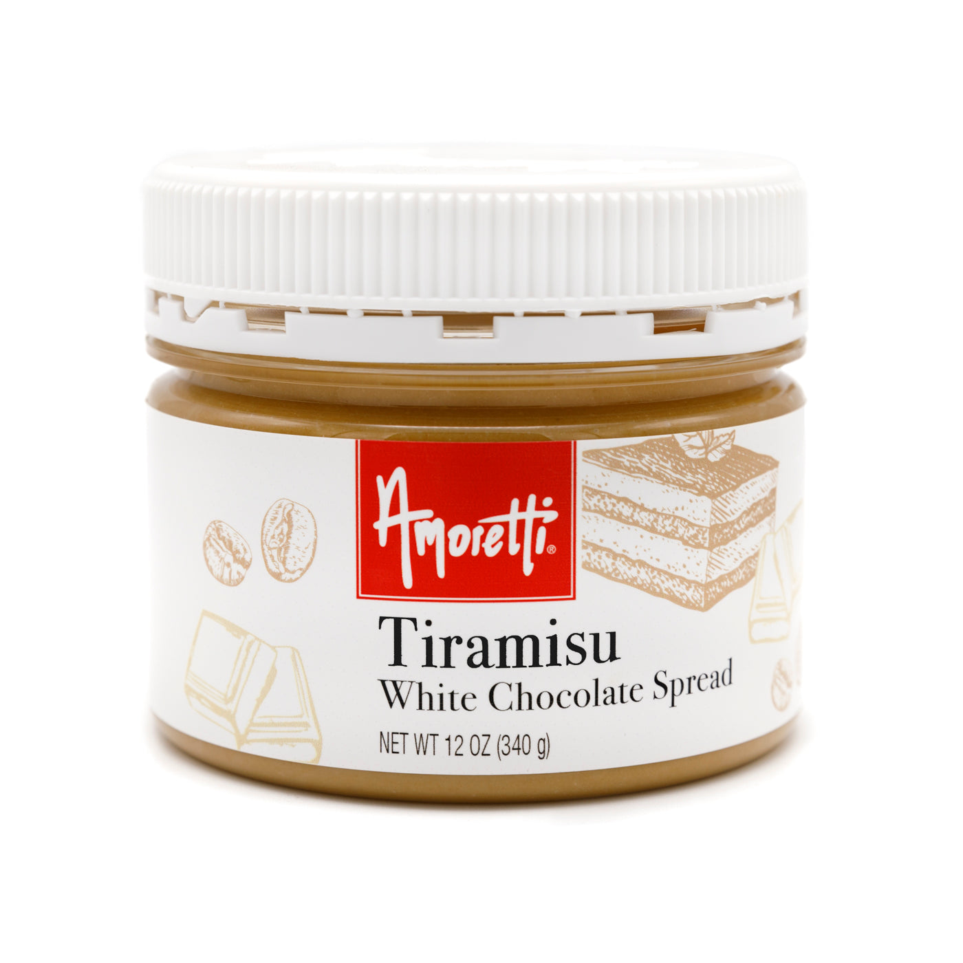 Tiramisu White Chocolate Spread