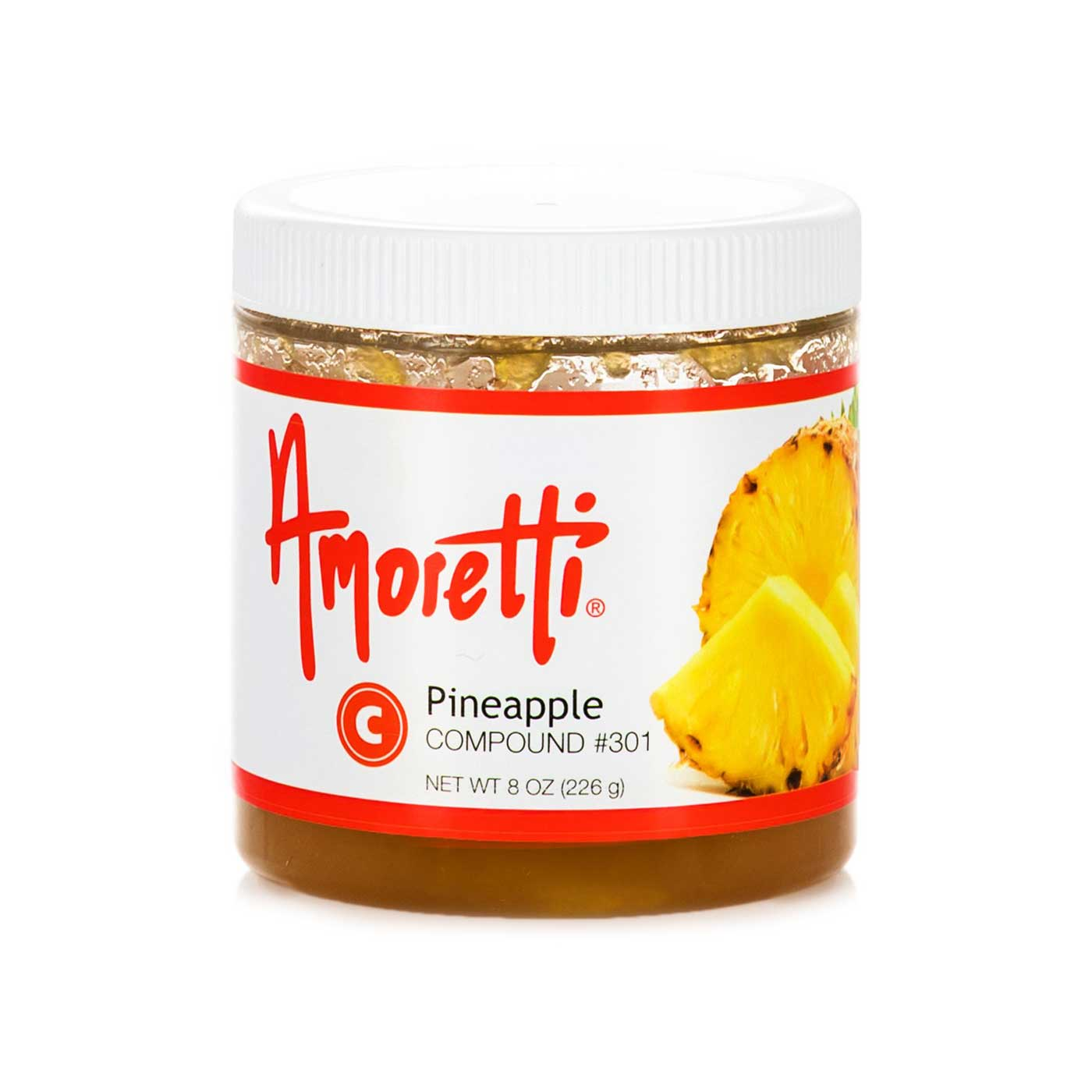 Amoretti tropical pineapple is so sweet and delicious that it's used in both sweet and savory dishes.