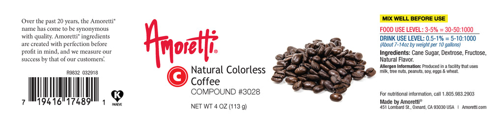 Natural Colorless Coffee Compound