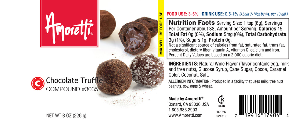 Chocolate Truffle Compound
