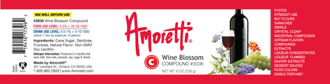 Amoretti Wine Blossom Compound