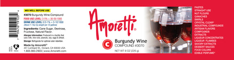 Amoretti Burgundy Wine Compound