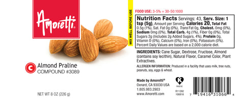 Amoretti Almond Praline Compound