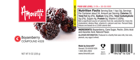 Amoretti Boysenberry Compound