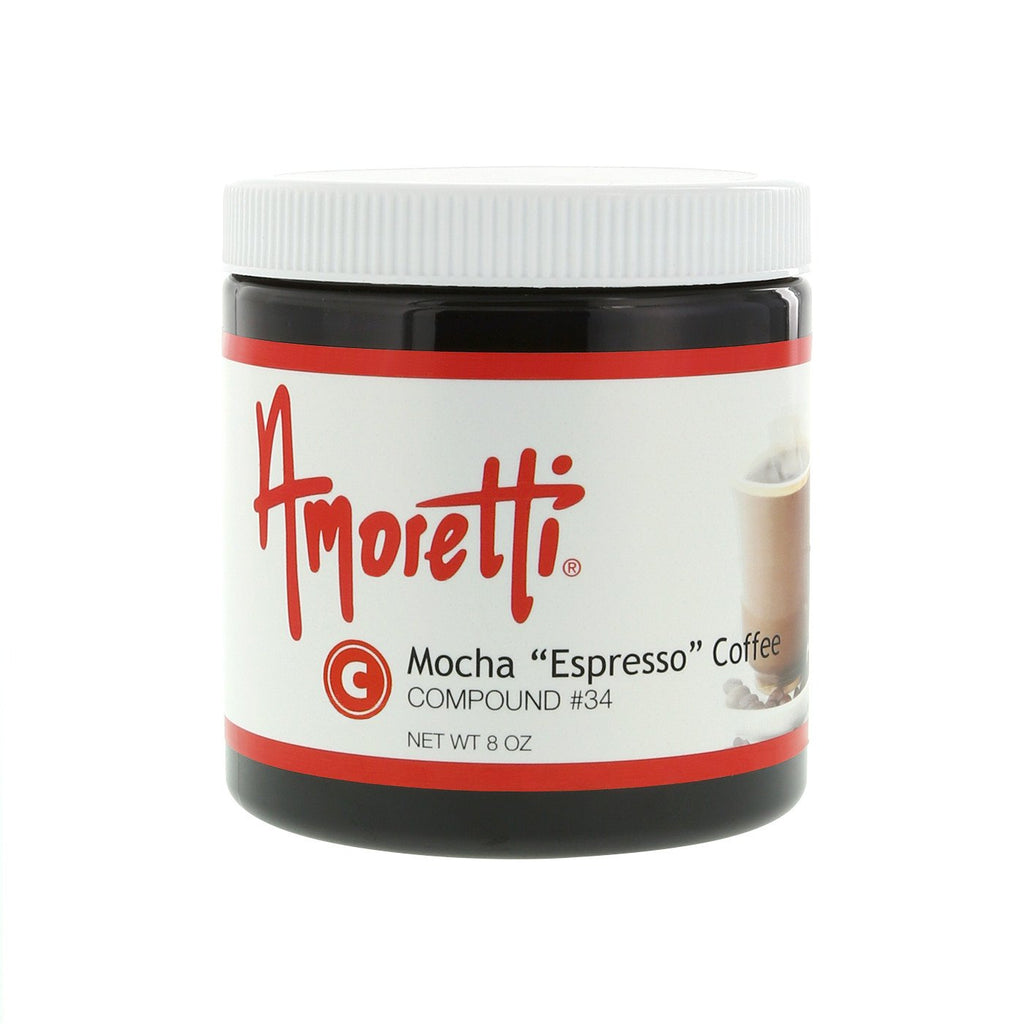 "Amoretti Mocha ""Espresso"" Coffee for whipped cream and buttercream Compound"