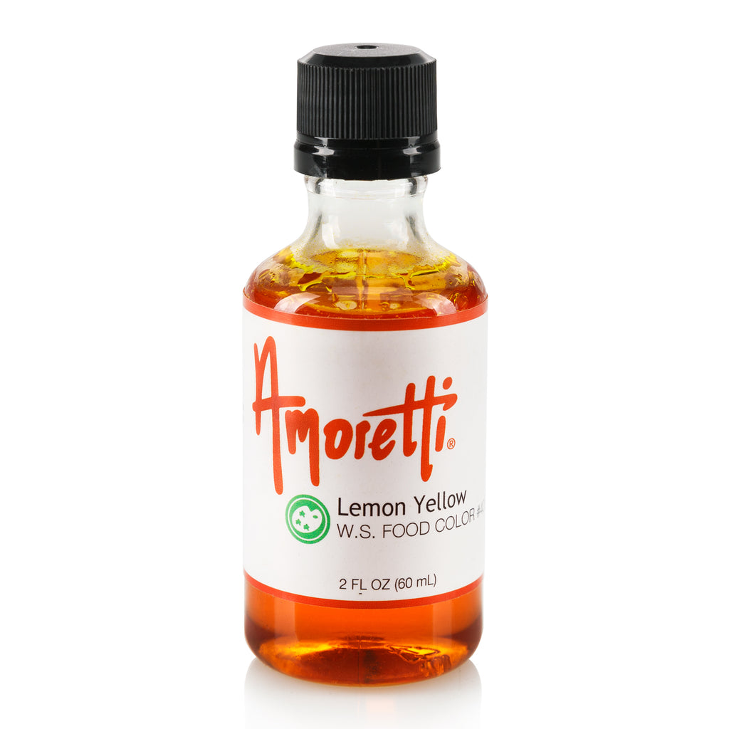 Lemon Yellow Food Color Water Soluble – Amoretti