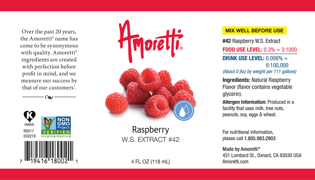 Raspberry Extract Water Soluble