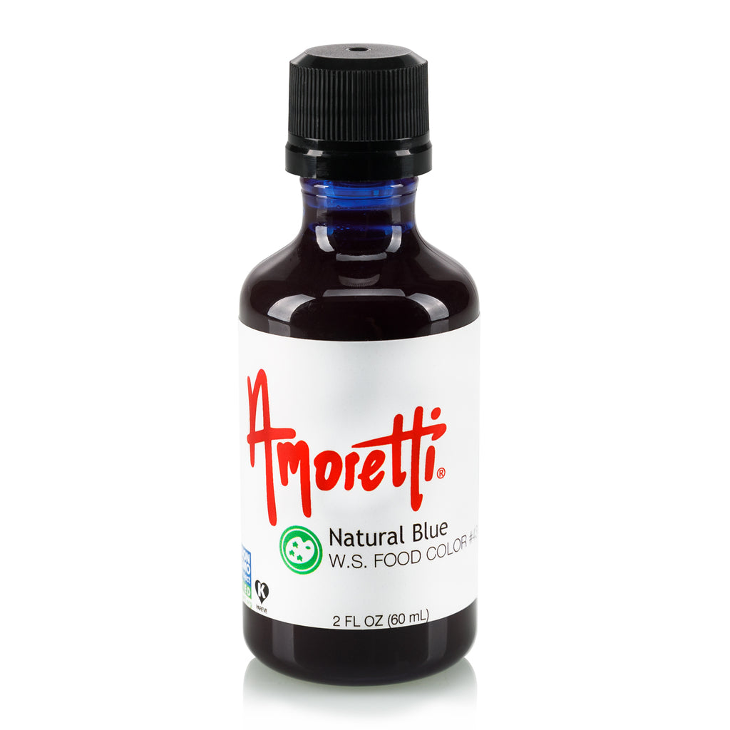 Natural Blue Food Color Water Soluble – Amoretti