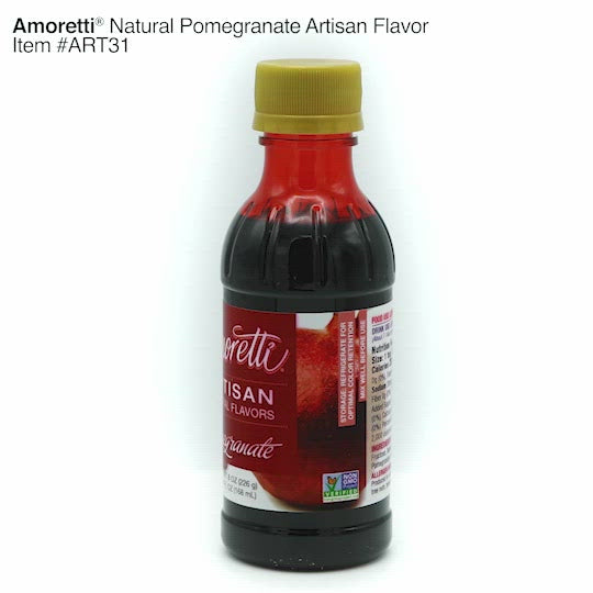 Natural Pomegranate Artisan Flavor