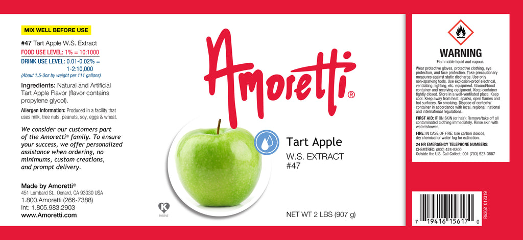 Tart Apple Extract Water Soluble