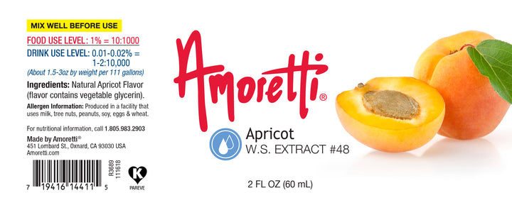 Apricot Extract (Armenian Type) Water Soluble