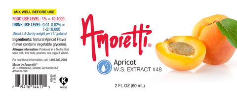 Amoretti Apricot Extract W.S.
