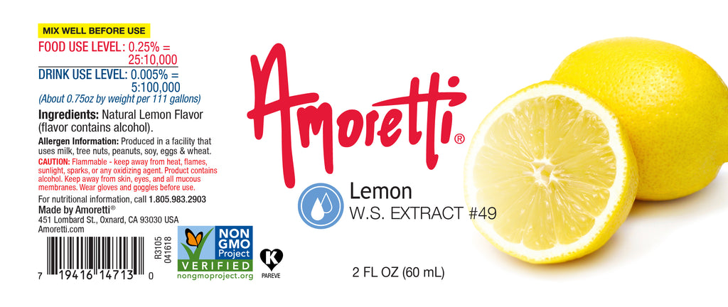 Lemon Extract Water Soluble