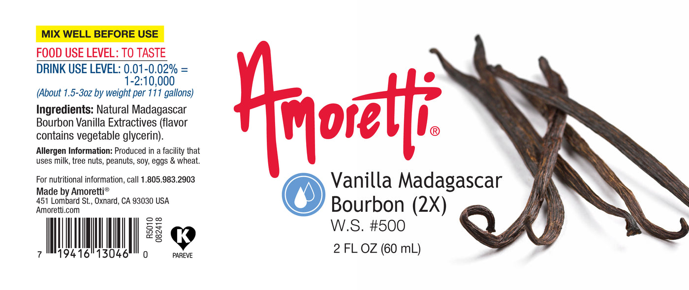 Vanilla Madagascar Bourbon Water Soluble 2X