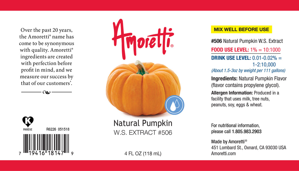 Natural Pumpkin Extract Water Soluble
