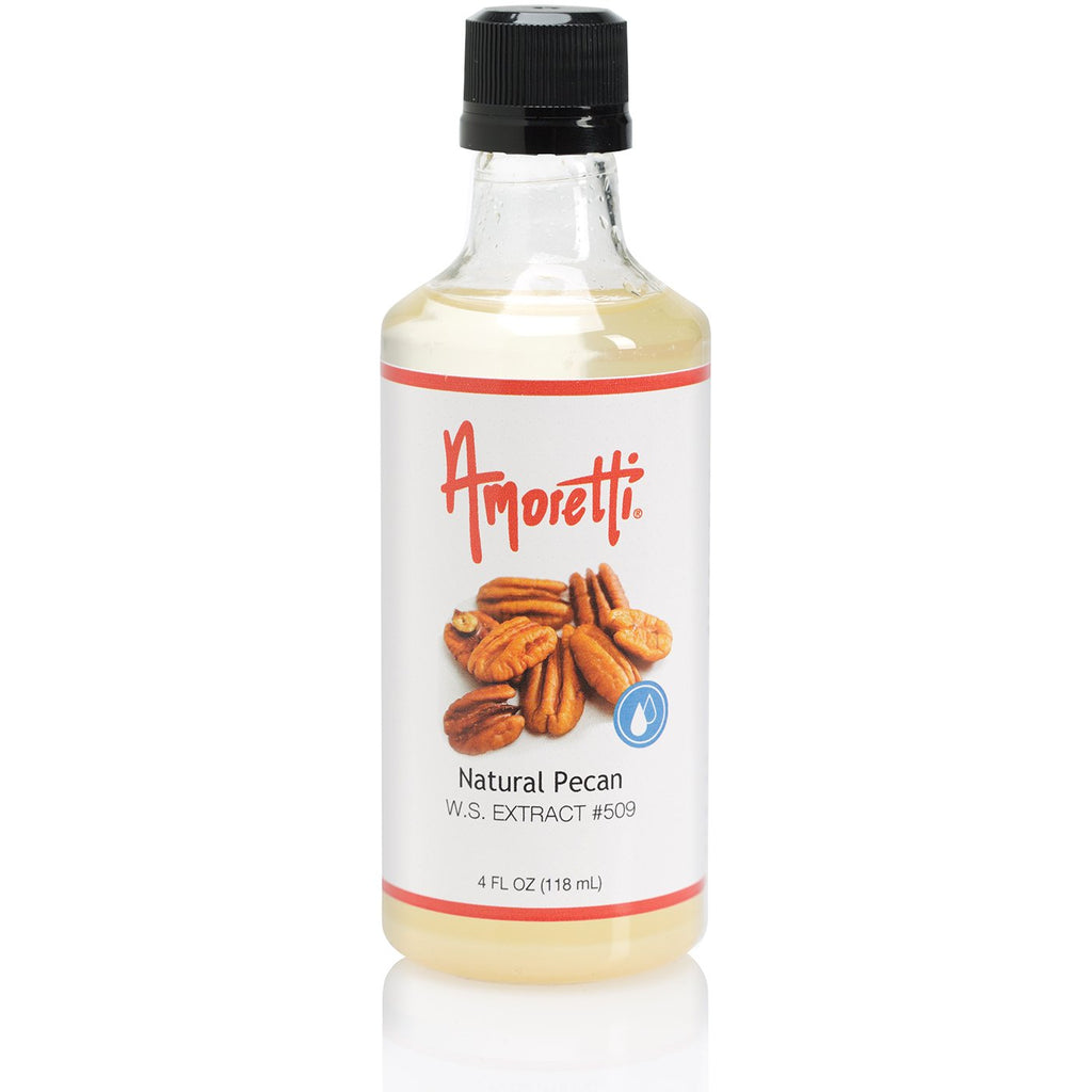 Amoretti Natural Pecan Extract W.S.