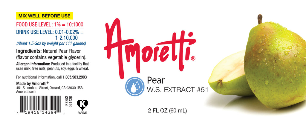 Pear Extract Water Soluble