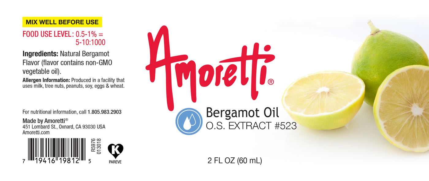 Bergamot Oil Extract Oil Soluble