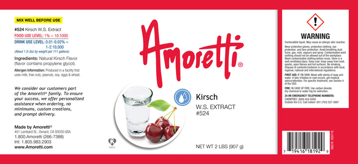 Kirsch Extract Water Soluble