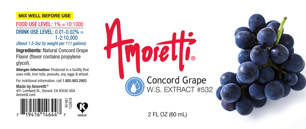 Concord Grape Extract Water Soluble