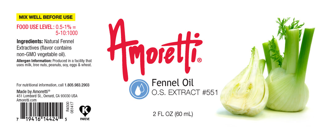 Fennel Oil Extract Oil Soluble