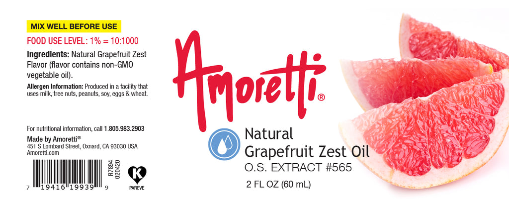 Natural Grapefruit Zest Oil Extract Oil Soluble