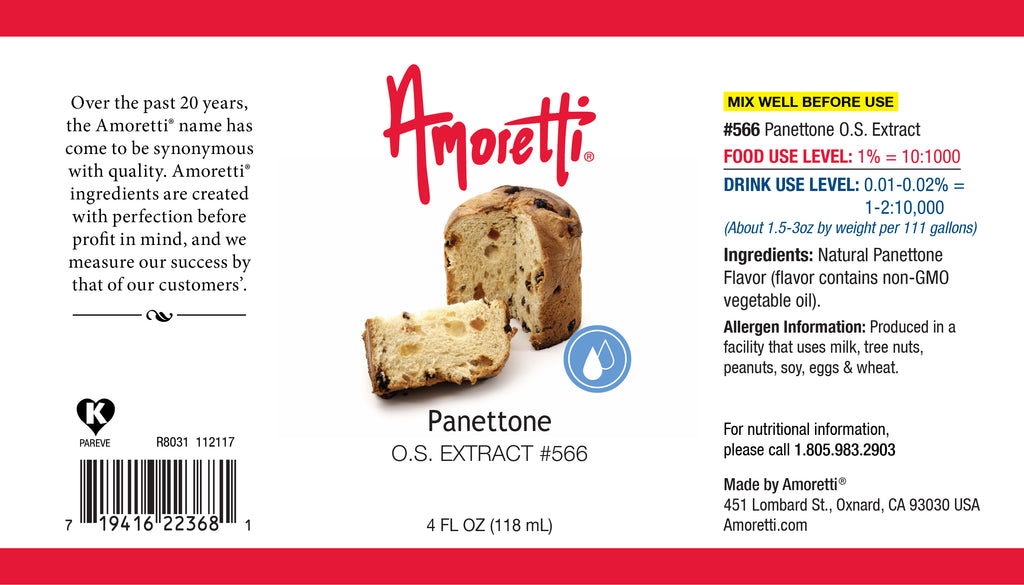 Panettone Extract Oil Soluble