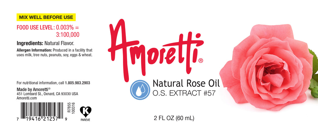 Natural Rose Oil Extract Oil Soluble (highly concentrated version)
