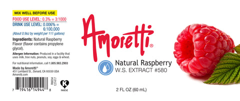 Raspberry Extract Natural Water Soluble