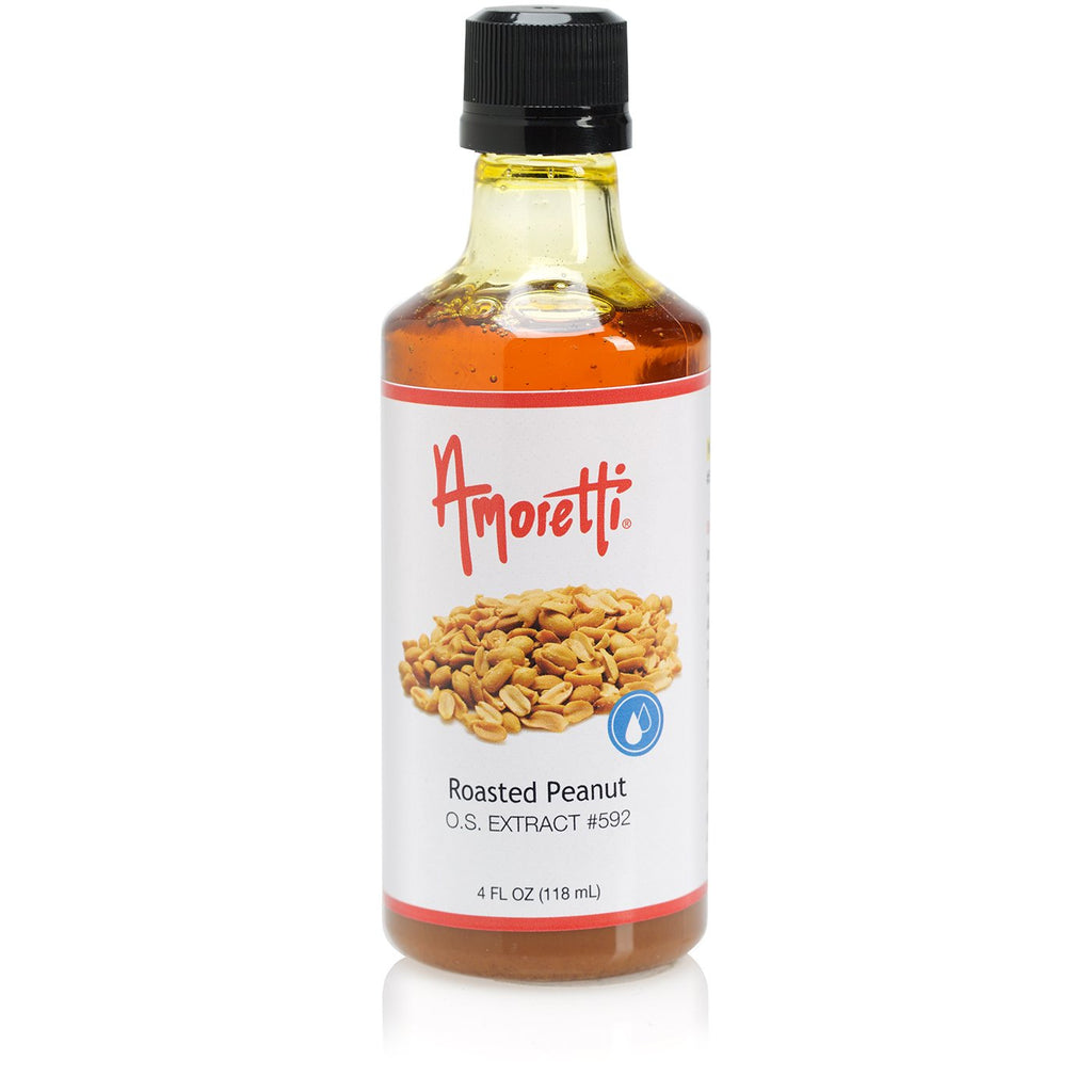 Amoretti Natural Roasted Peanut Extract O.S.