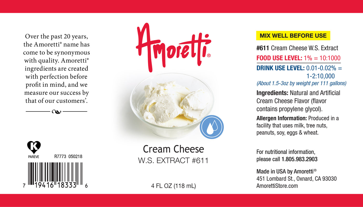 Cream Cheese Extract Water Soluble