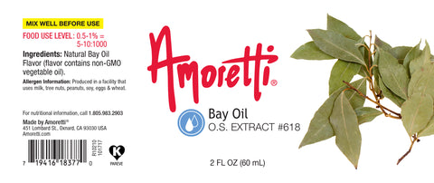 Amoretti Bay Oil Extract O.S.