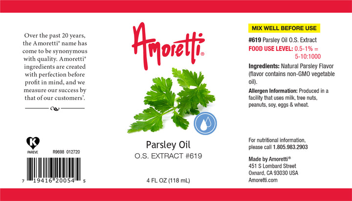 Parsley Oil Extract Oil Soluble