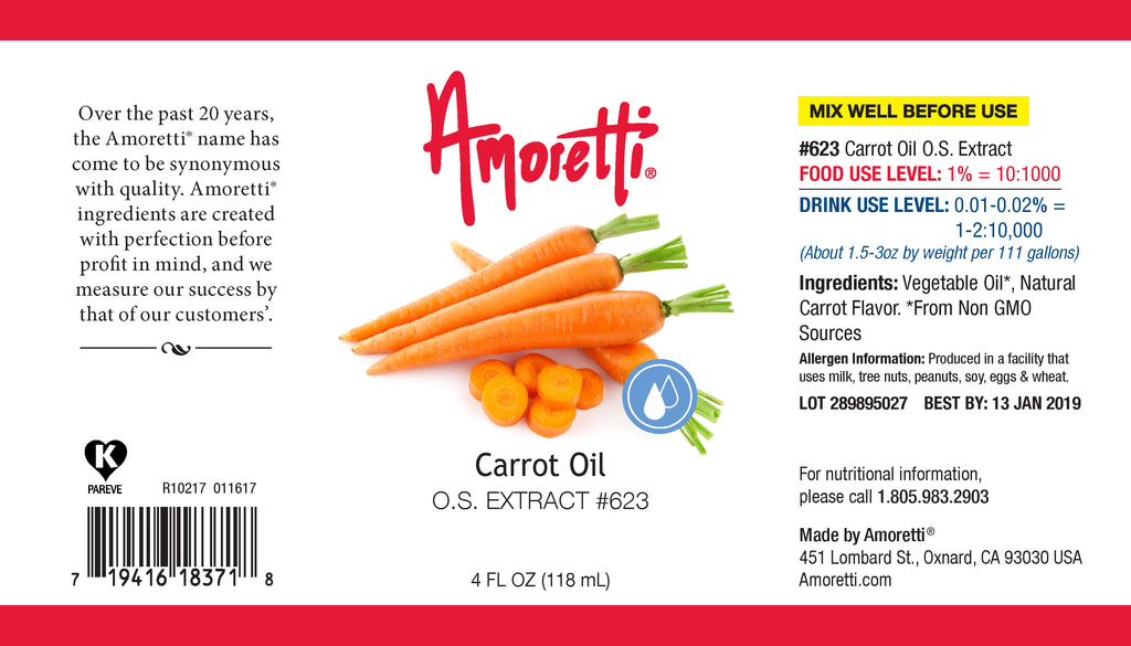 Carrot Oil Extract Oil Soluble