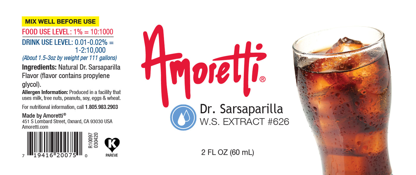 Dr. Sarsaparilla Extract Water Soluble