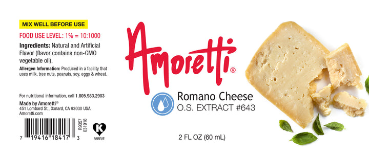 Natural Romano Cheese Extract Oil Soluble