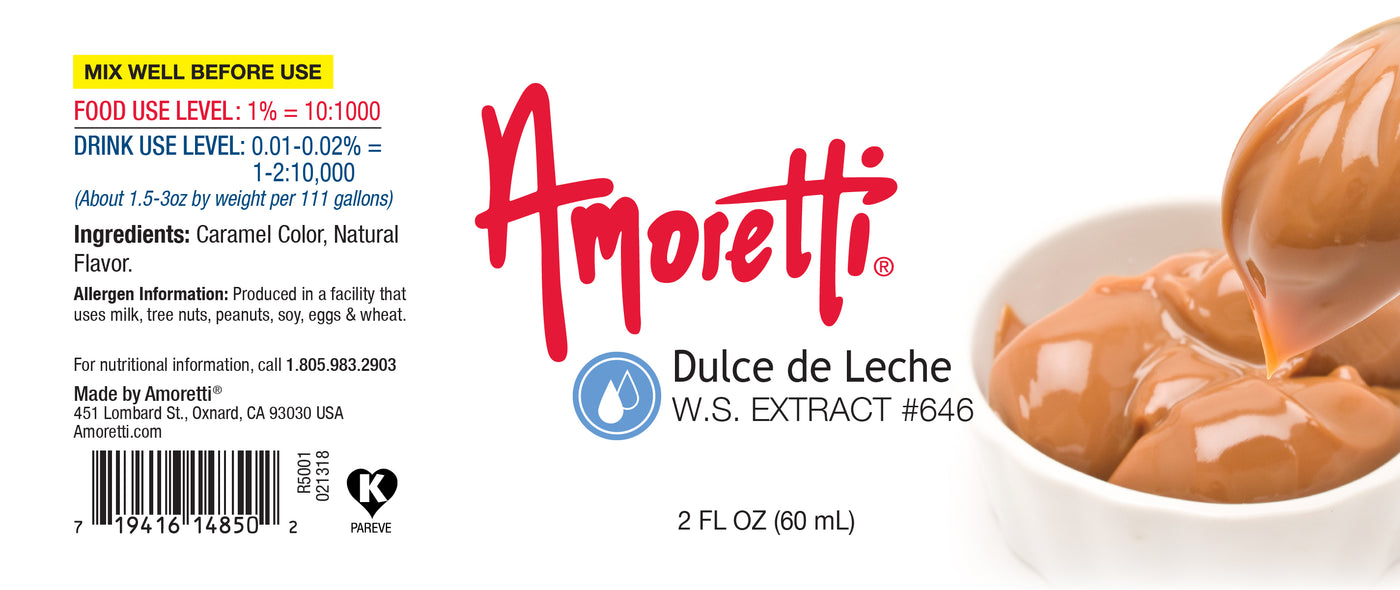 Dulce de Leche Extract Water Soluble