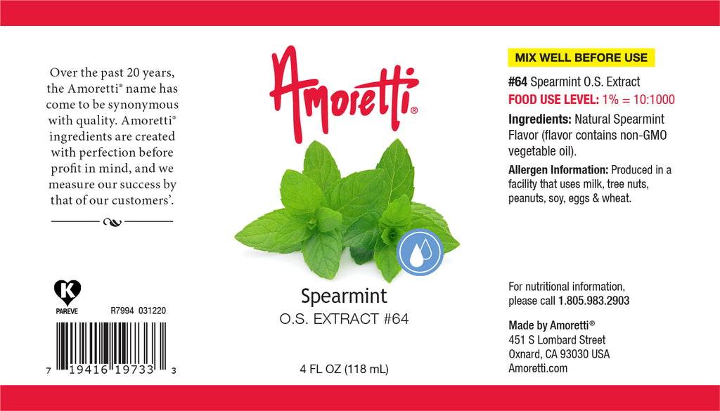 Spearmint Extract Oil Soluble