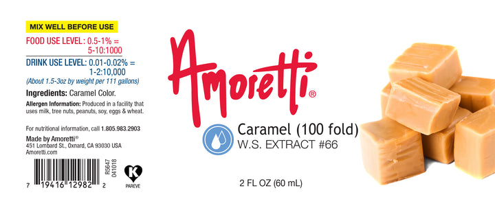Caramel Extract Water Soluble (100 fold)