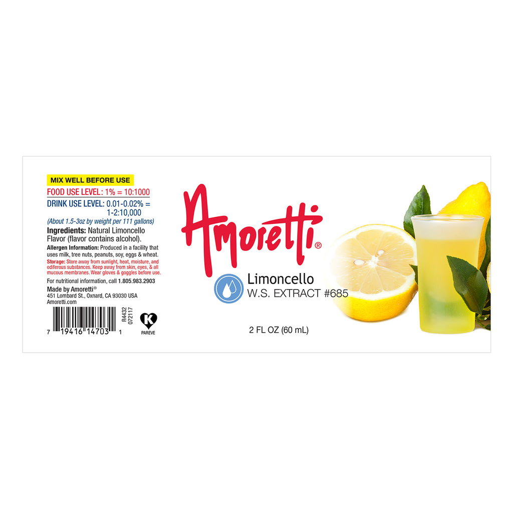 Limoncello Extract Water Soluble
