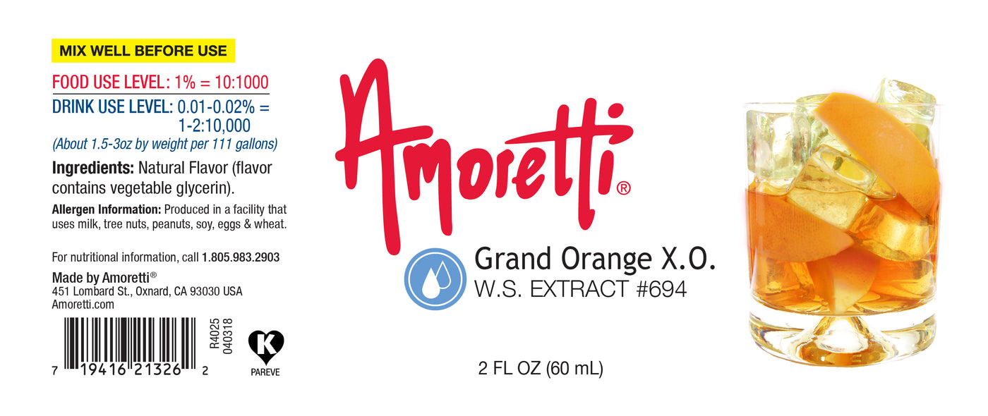 Grand Orange XO Extract Water Soluble