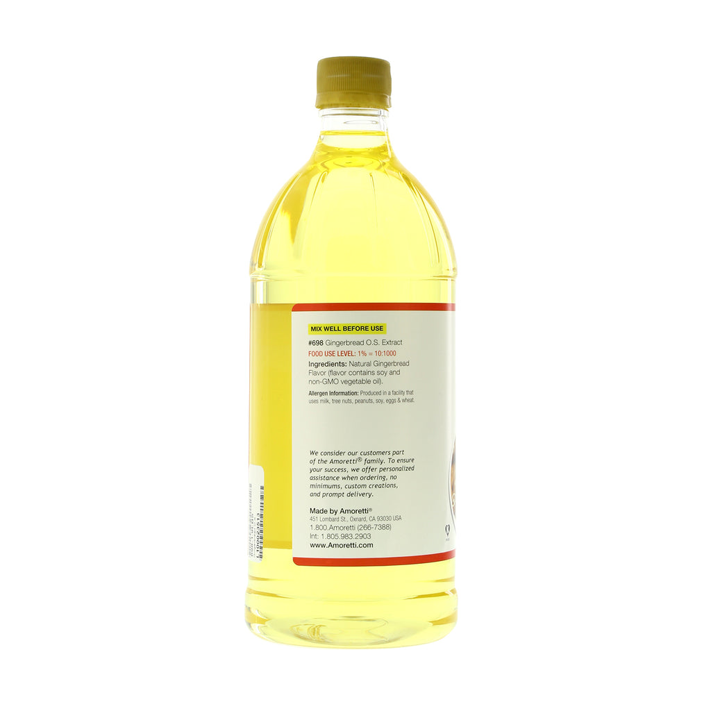 Gingerbread Extract Oil Soluble
