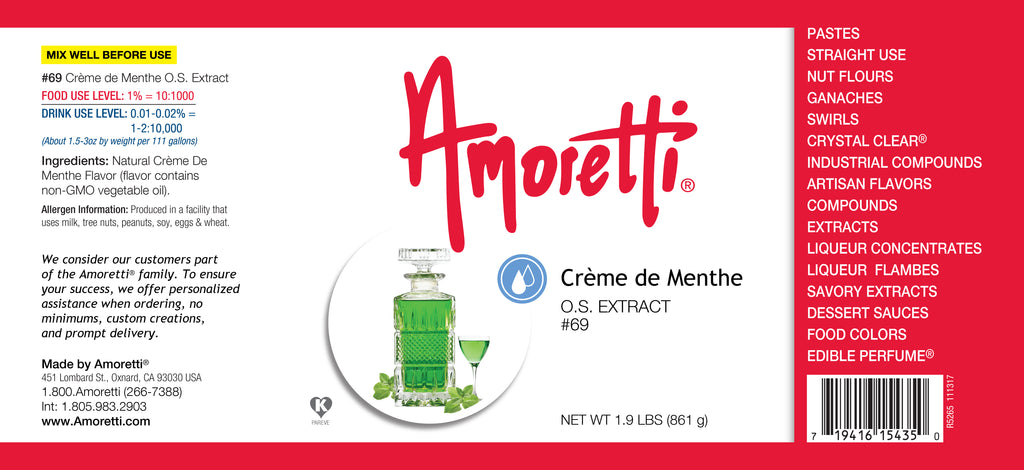 Creme de Menthe Extract Oil Soluble