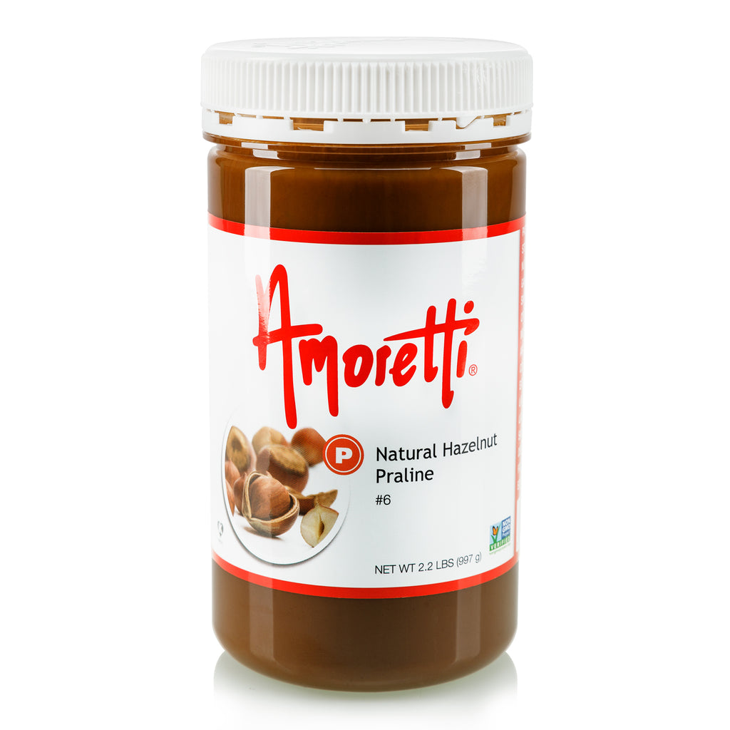 Natural Hazelnut Praline - Dark Roasted, Ultra Smooth Natural (skin on) Hazelnut Butter (no sugar added)