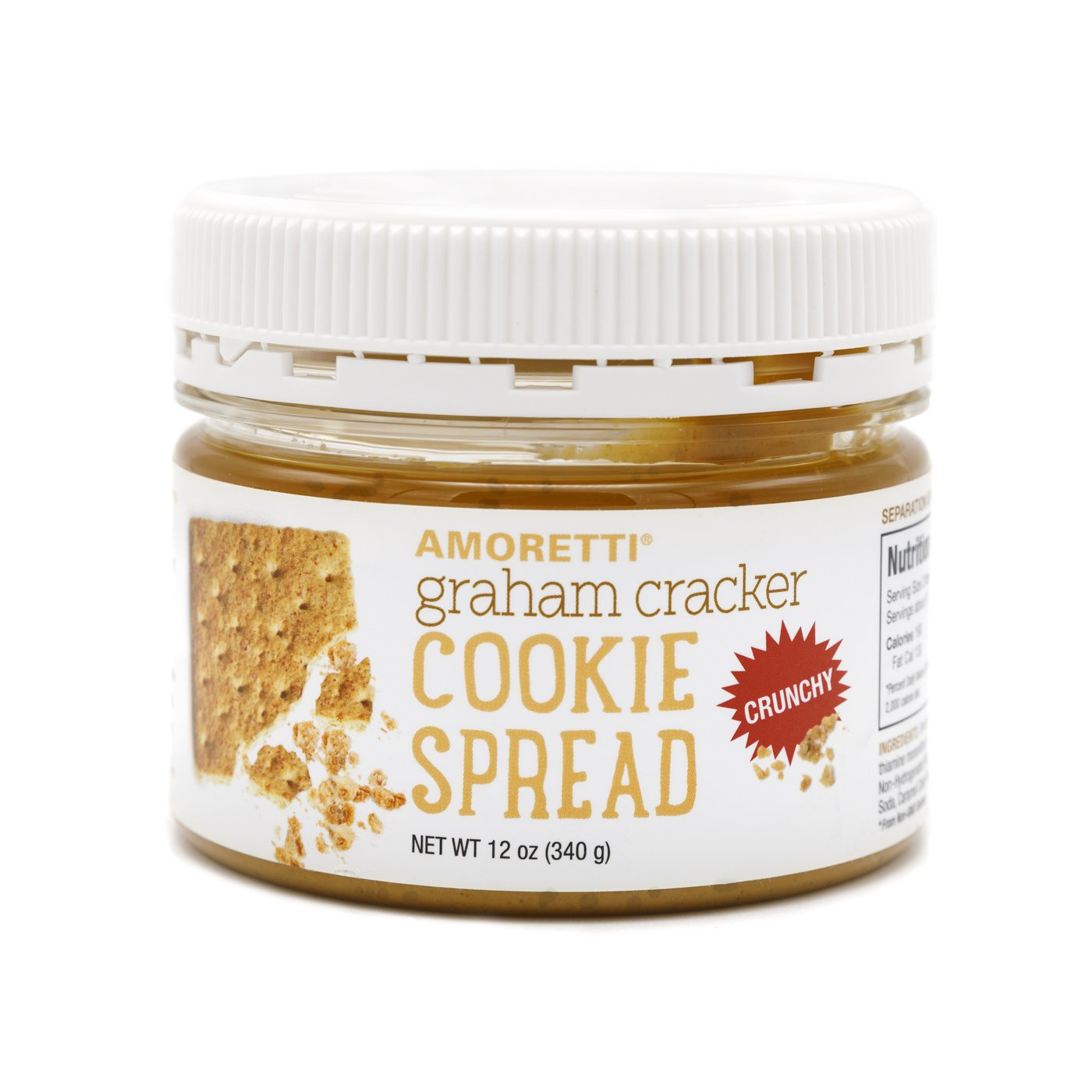 Graham Cracker Crunchy Cookie Spread