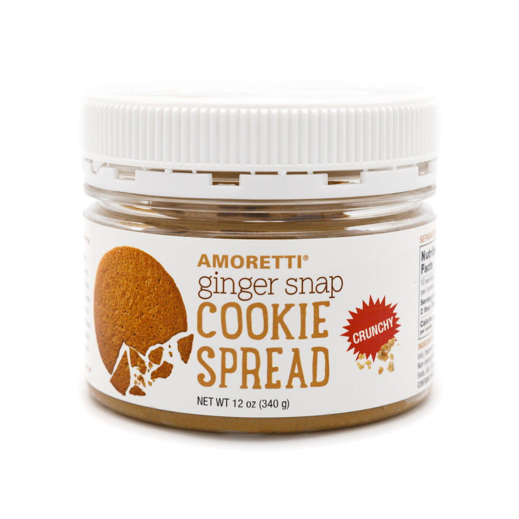Ginger Snap Crunchy Cookie Spread