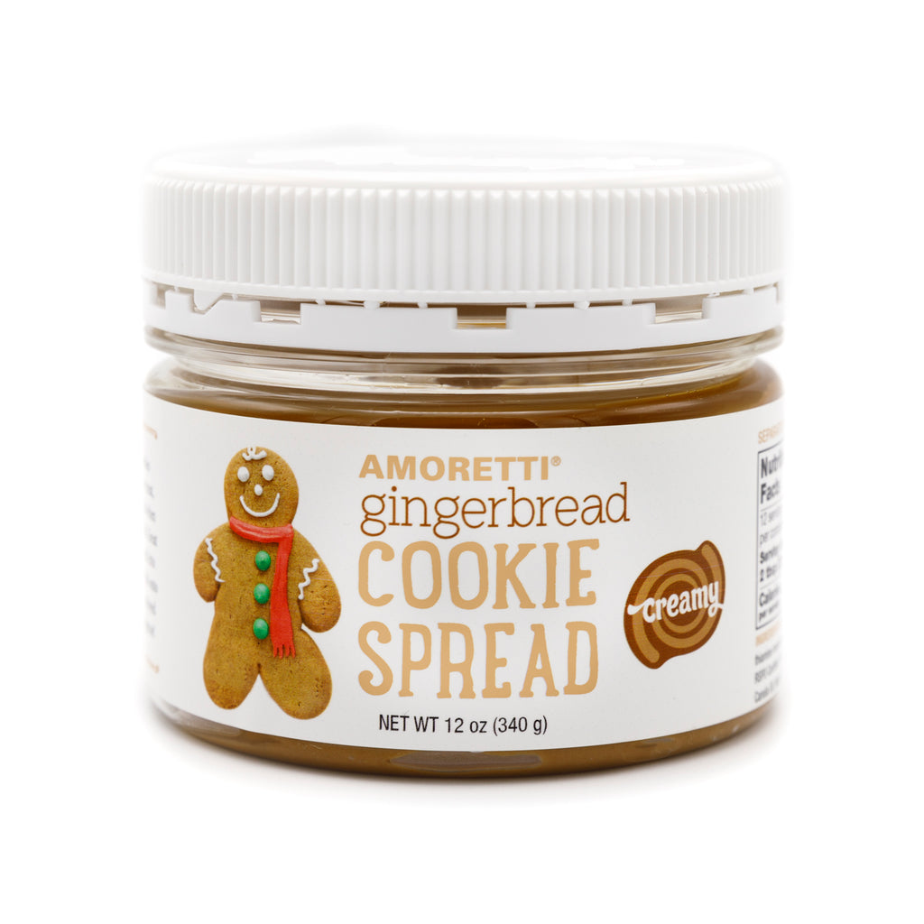 Gingerbread Creamy Cookie Spread