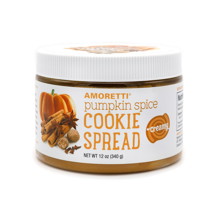 Pumpkin Spice Creamy Cookie Spread