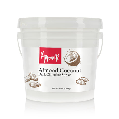 Almond Coconut Dark Chocolate Spread